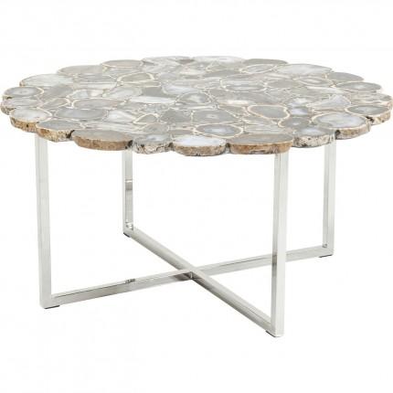 Table basse Tesoro bleue 80cm Kare Design