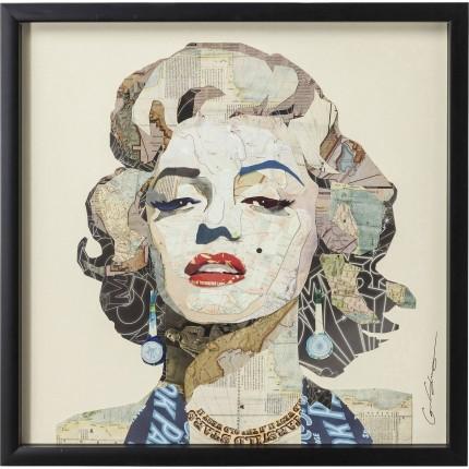 Tableau Frame Art Diva 61x61cm Kare Design
