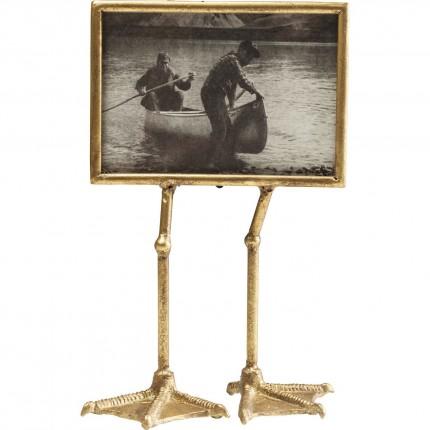 Cadre pattes palmées horizontal 13x18cm Kare Design
