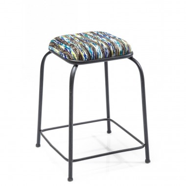 Tabourets Campus Mix bleu set de 2 Kare Design