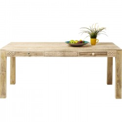 Table Puro Plain 180x90cm Kare Design