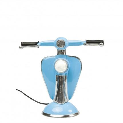 Lampe de table Scooter bleu LED Kare Design