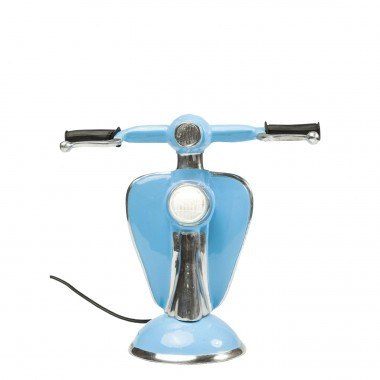 Lampe de table Scooter bleu LED Kare Design