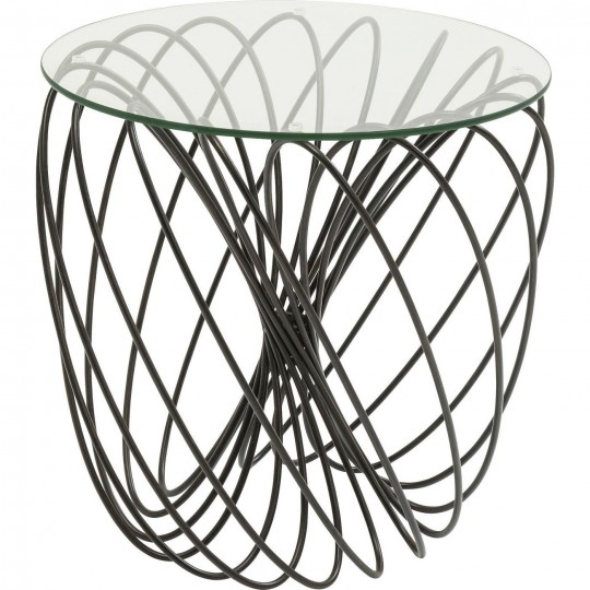 Table d'appoint Wire Ball 45cm Kare Design