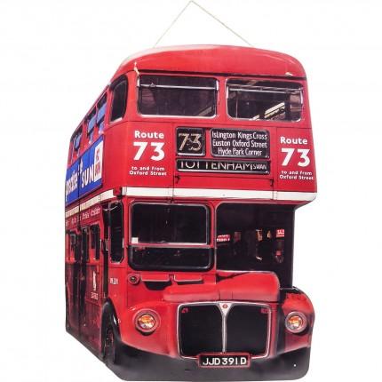 Décoration murale Tottenham Bus Kare Design
