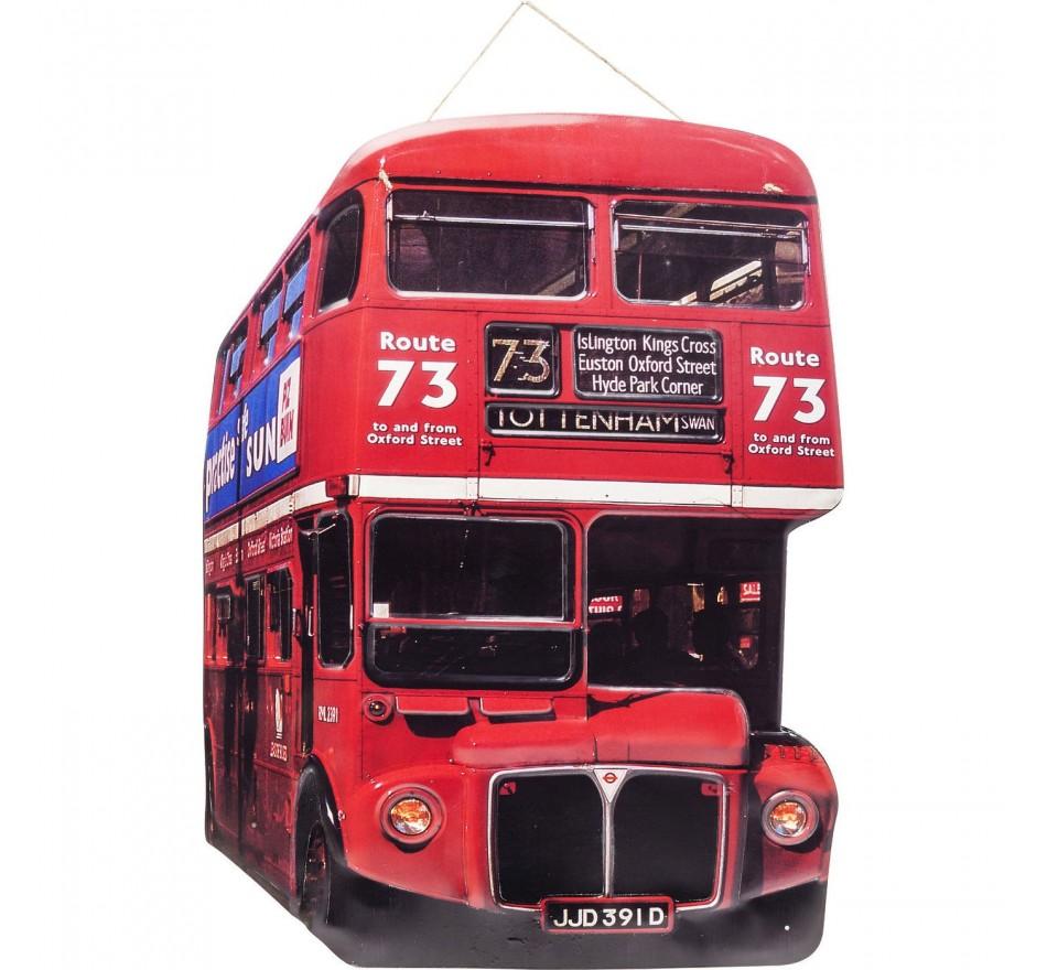 Décoration murale Tottenham Bus