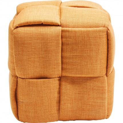 Tabouret Woven orange Kare Design