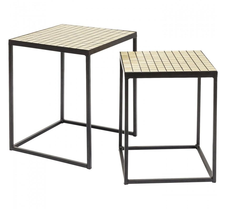 Table d appoint Cubes (jeu de 2)