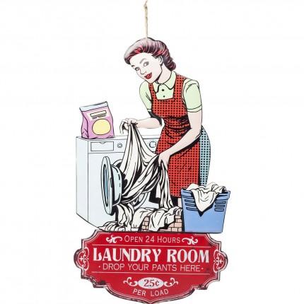 Décoration murale Laundry Room Kare Design