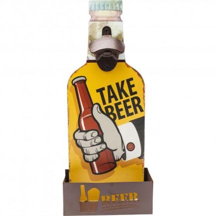 Décapsuleur mural Take Beer Kare Design