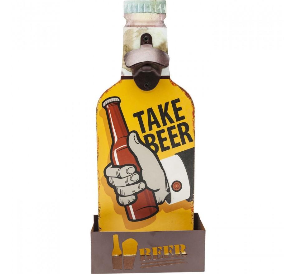 Décapsuleur mural Take Beer