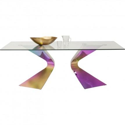 Table Gloria Rainbow 200x100cm Kare Design