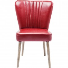 Chaise Filou rouge
