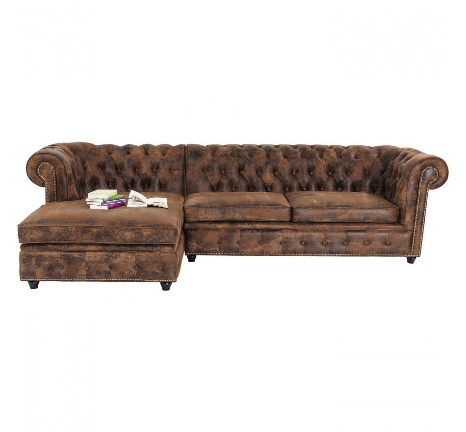 Canapé d'angle Oxford Vintage Kare Design