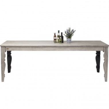 Table Quarter Cut Range 220x90cm Kare Design