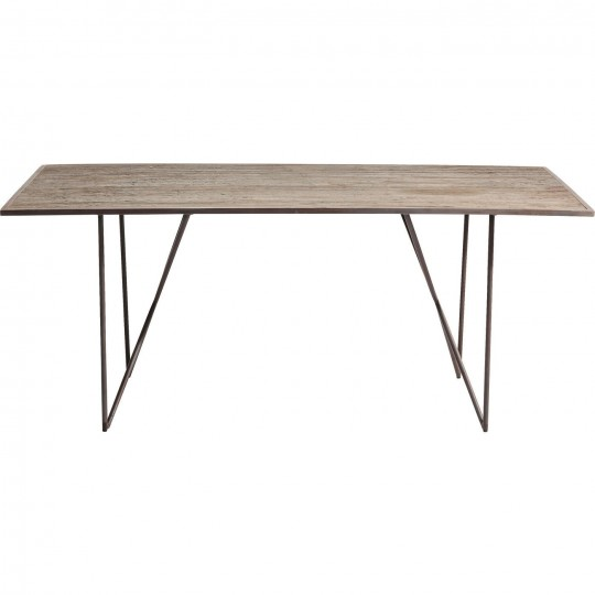 Table Quarry cuivre 180x90cm