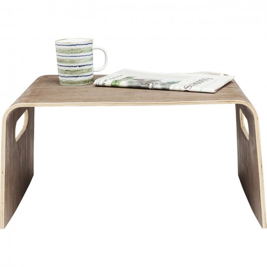 Petite table Shape Swing noix GM