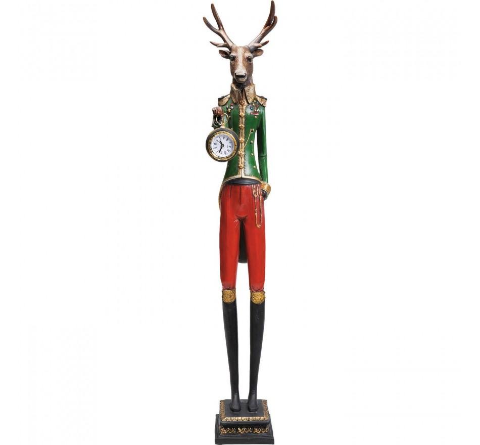 Horloge à poser Gentleman Deer Kare Design