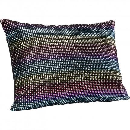 Coussin Rainbow Glitter 40x30cm Kare Design