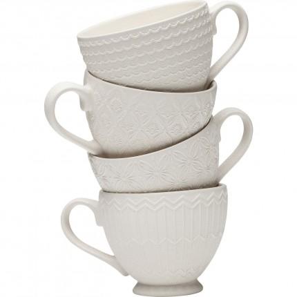 Tasses Muriel set de 4 Kare Design