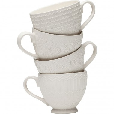 Tasses Muriel set de 4 Kare Design