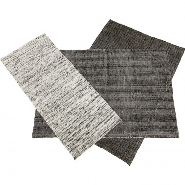 Tapis Collage gris 365x315cm Kare Design