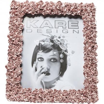 Cadre Rose or rose 20x25cm Kare Design