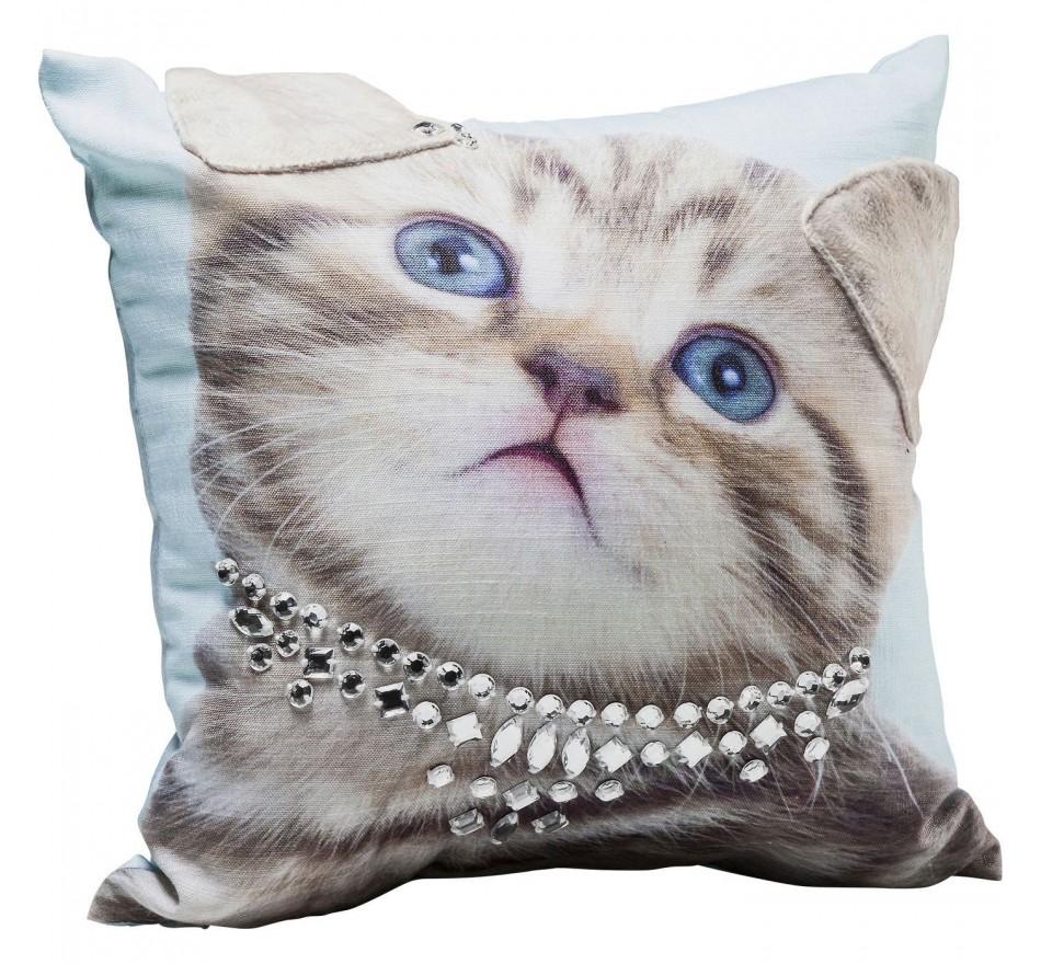 Coussin Lady Cat 45x45cm Kare Design