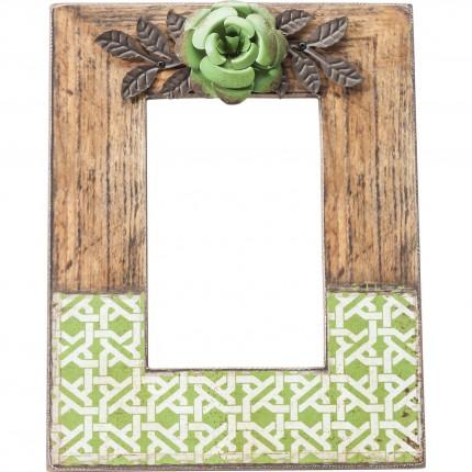 Cadres Green Flower 10x15cm set de 2 Kare Design