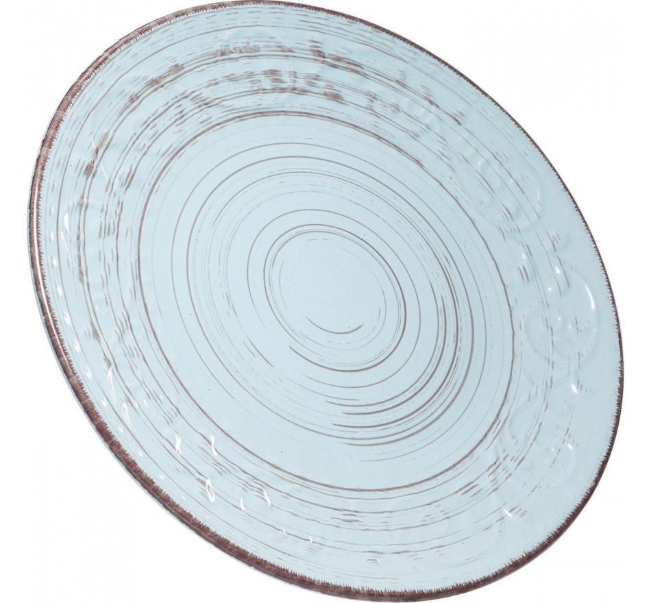 Assiettes Desire turquoise 28cm set de 4 Kare Design