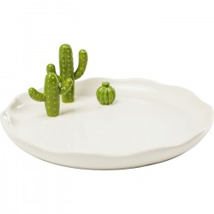 Plateau Cactus 23cm Kare Design
