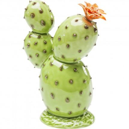 Déco Cactus Orange Flower 16cm Kare Design