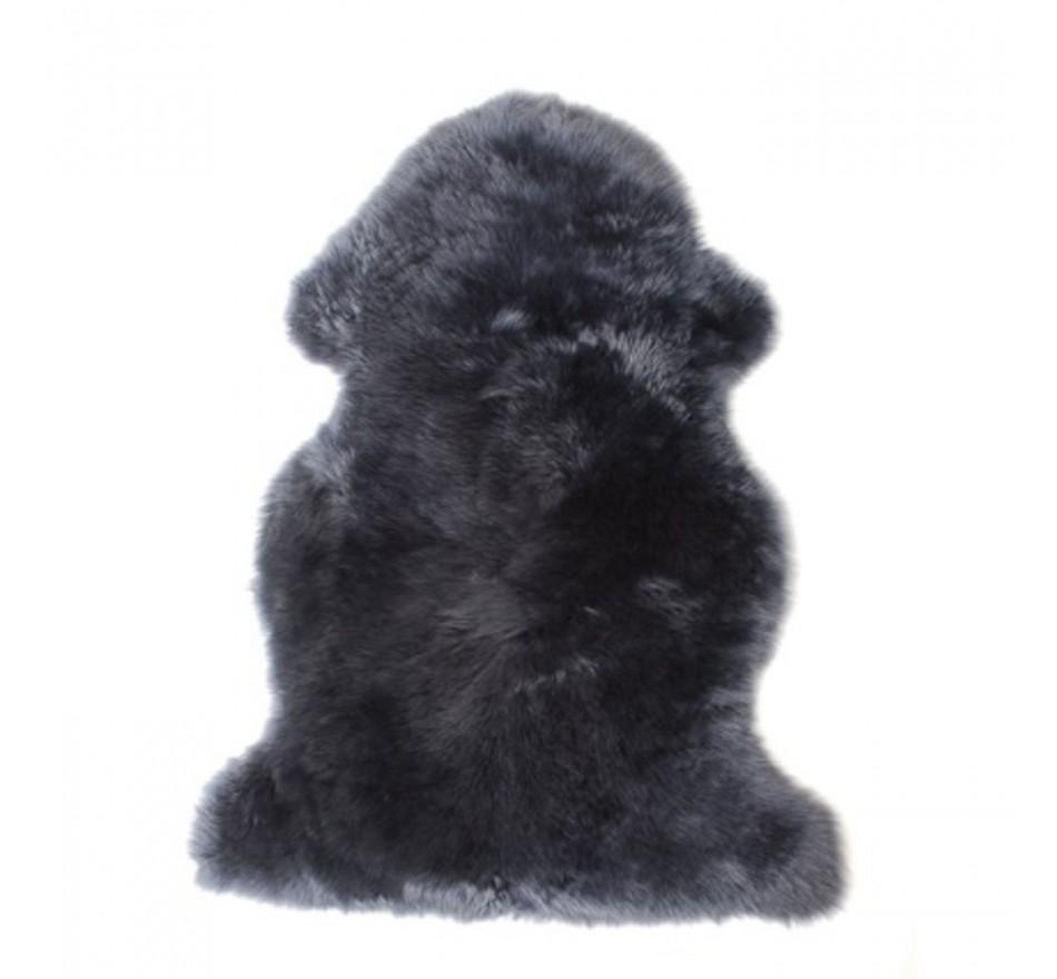 Peau de mouton 95 cm gris anthracite Kare Design