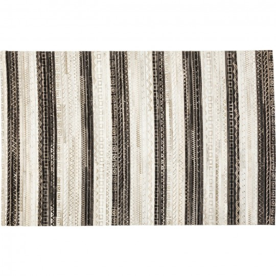 Tapis Hieroglyphics stripes 240x170cm Kare Design