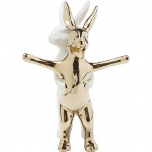 Figurine décorative Hugging Rabbits PM