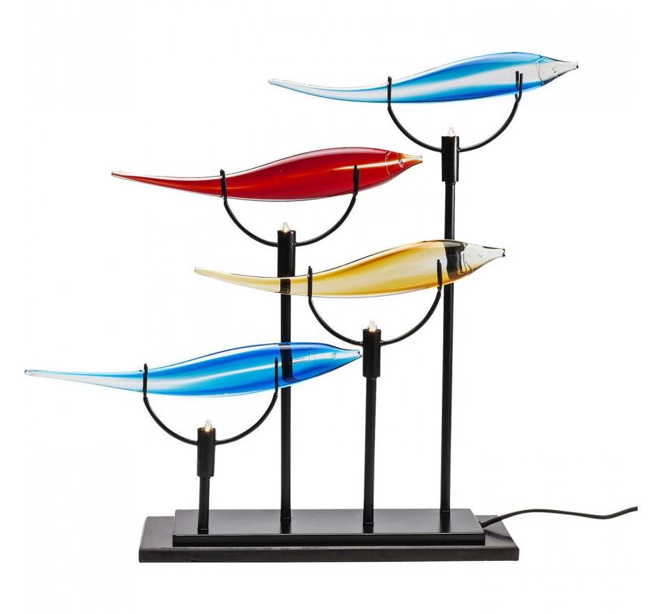 Lampe de table Pesce Colore quattro