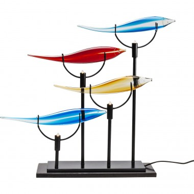 Lampe de table Pesce multicolore Quattro Kare Design