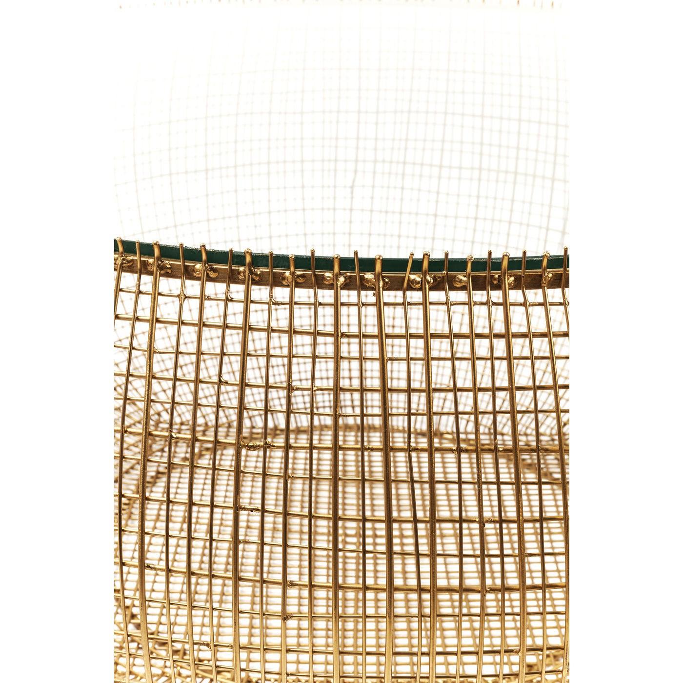 Table basse Cesta 90cm verre Kare Design