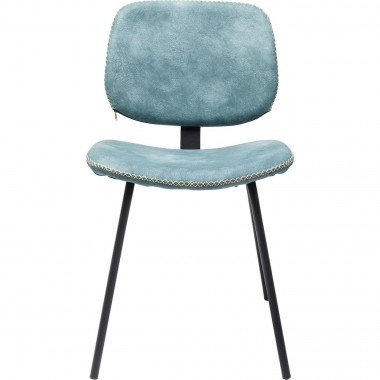 Chaise Barber bleu clair Kare Design