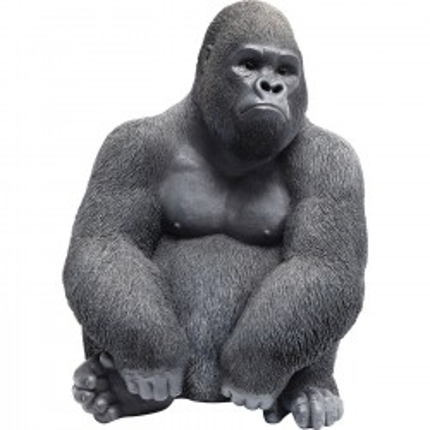 Déco Gorille noir 39cm Kare Design