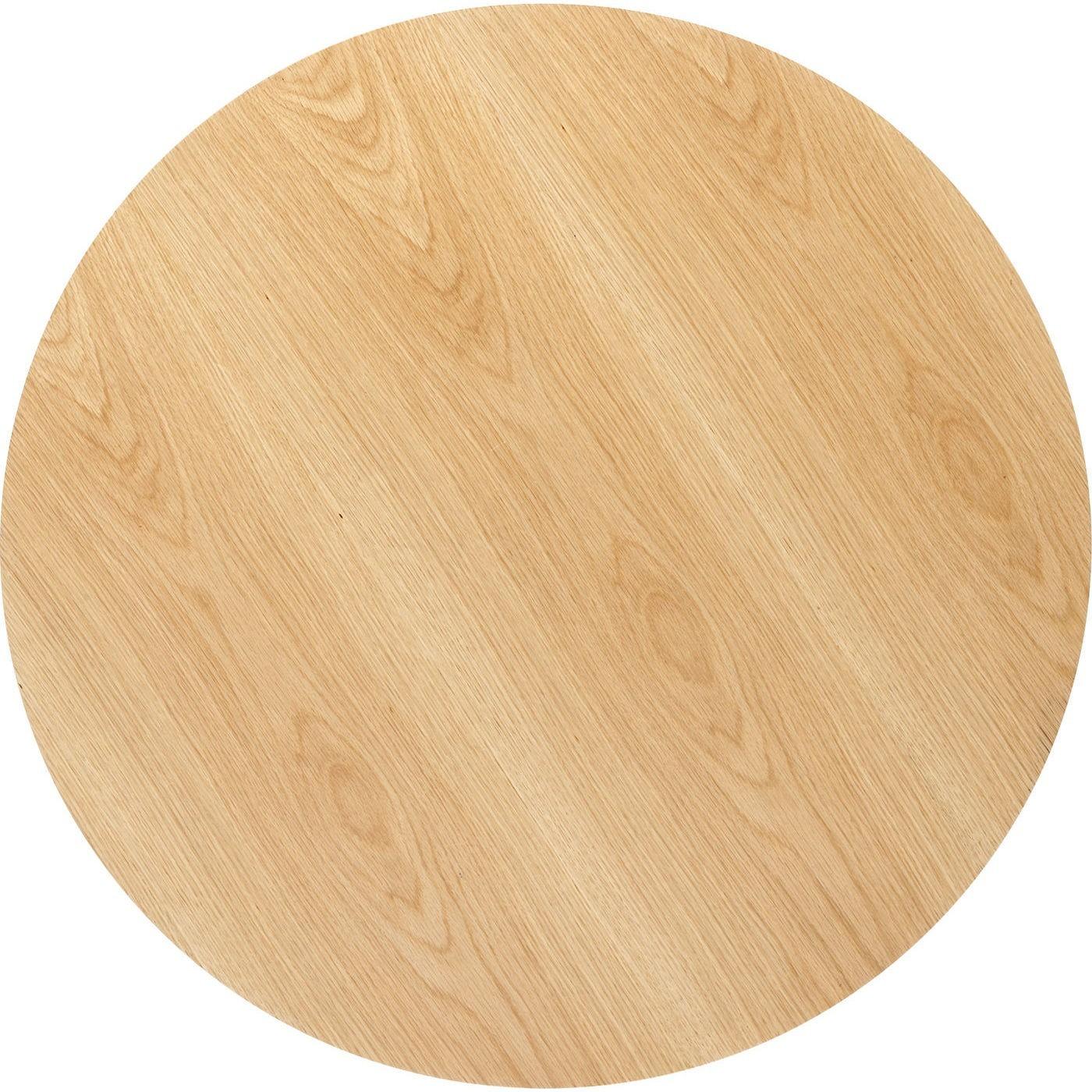Table Invitation 120cm chêne & noire Kare Design