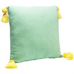 Coussin Louis Pop losanges verts 50x50cm Kare Design