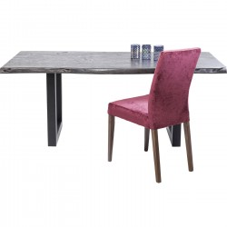 Table Pure Nature noire 195x100cm Kare Design