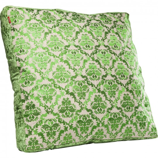 Coussin de sol Green Ornaments 70x70cm Kare Design