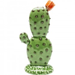 Déco Cactus Flower Uno orange 17cm Kare Design