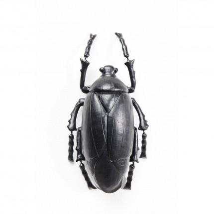 Déco murale Plant Beetle noire mat Kare Design