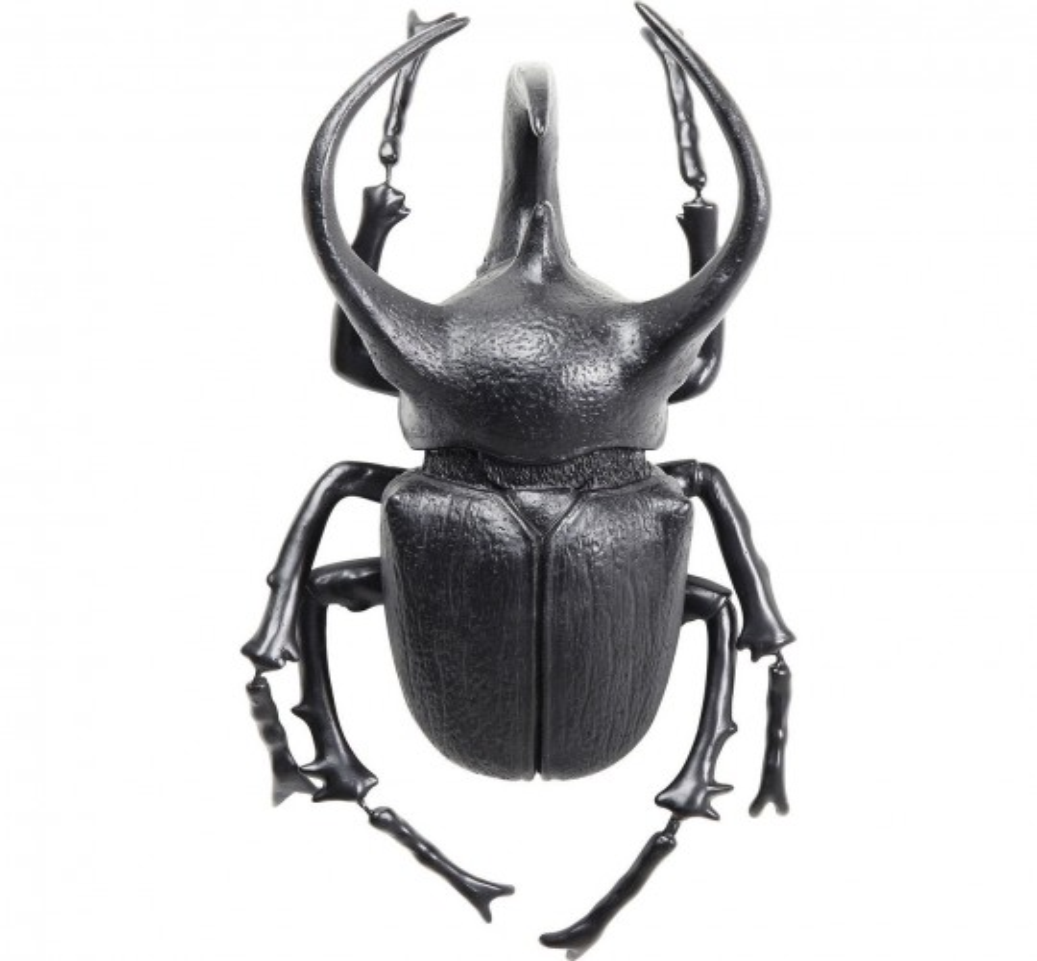 Décoration murale Atlas Beetle noir mat Kare Design