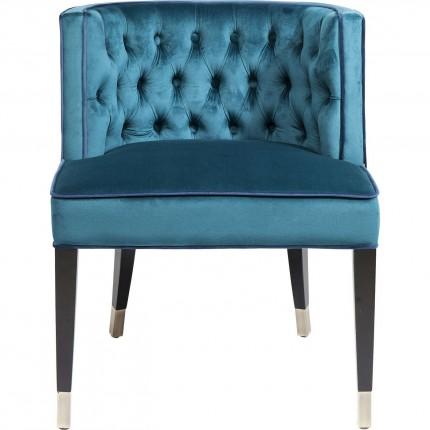 Chaise Aristo bleue Kare Design