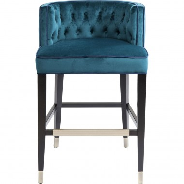 Tabouret de bar Aristo bleu Kare Design