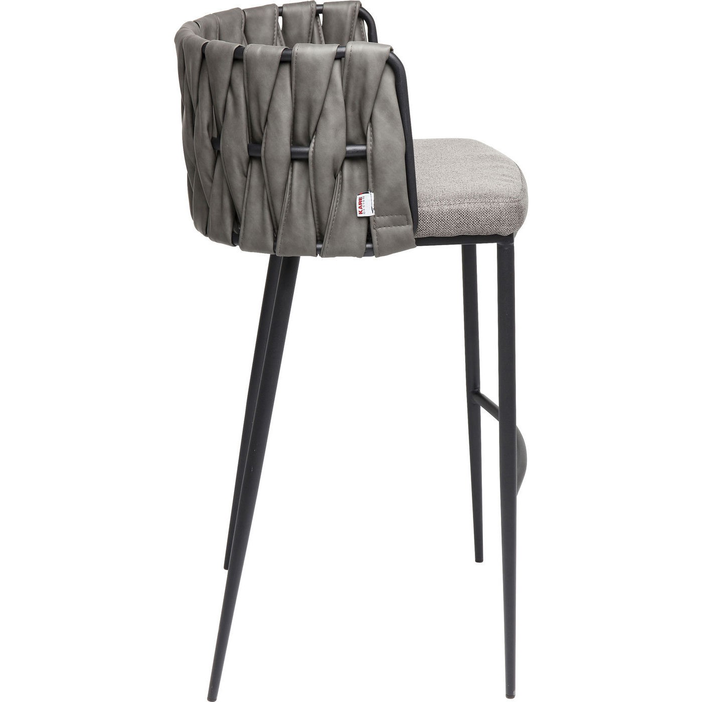 Tabouret de bar Cheerio gris Kare Design